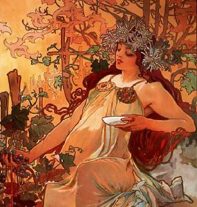 Alfons Mucha, Autunno, 1896