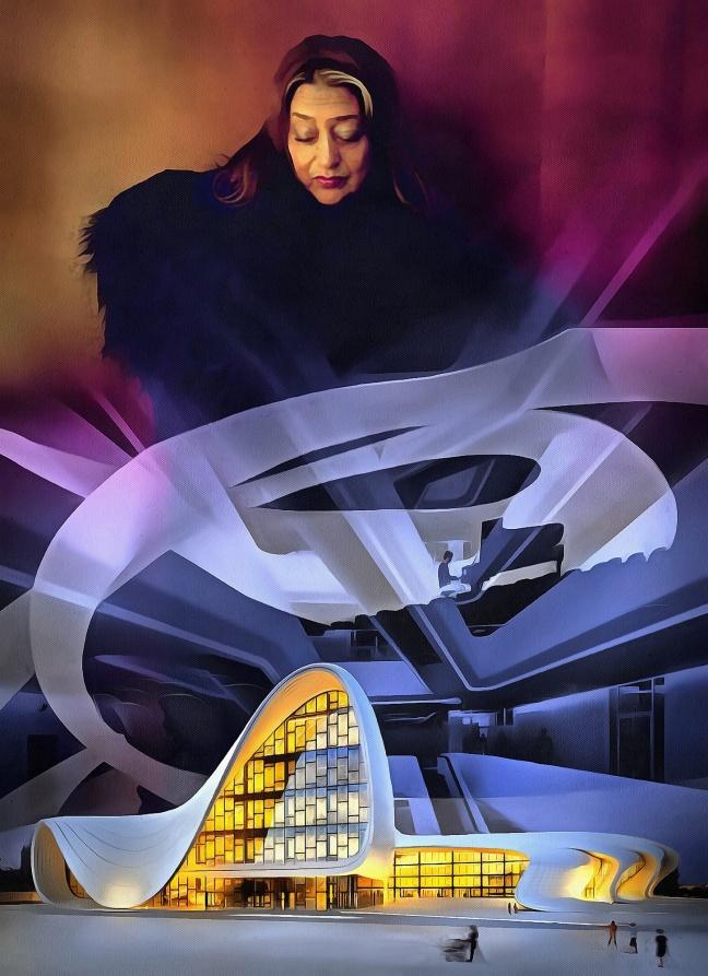 Zaha Hadid Omaggio(Copia)