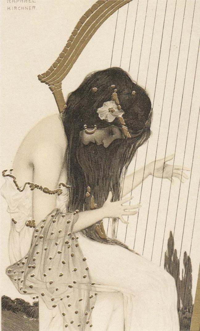 Raphael Kirchner - Greek Virgins, 1900